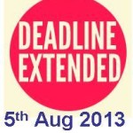 Last date for filing income tax returns ITR for AY 2013-2014 extended to August 5 2013
