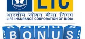 LIC Bonus rates for 2013-2014