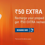 Free recharge of Rs.50 with ICICI SMS Banking