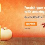 20% Off at FabFurnish with ICICI Bank Net Banking