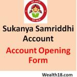 Sukanya Samriddhi Account – Application Form download for Bank or Post office