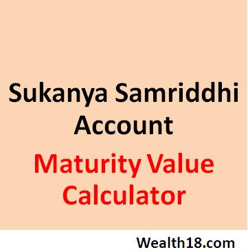 Sukanya Samriddhi Account Maturity Value Calculator