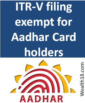 aadhar-itr-v-exempt