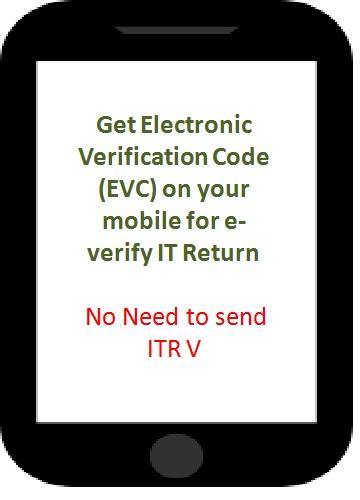 EVC-e-verify-itr