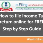 How to File Income Tax return (ITR) online – Step by Step Guide for eFiling