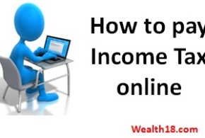 How to pay balance Income Tax online