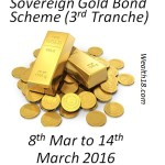 Sovereign Gold Bonds- March 2016 Series-II (3rd Tranche) – Details and Review
