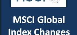 MSCI Global Index Review Changes – May 2016