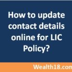 How to update contact details in LIC policy