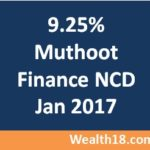 9.25% Muthoot Finance NCD Issue Jan 2017 – Details & Review