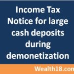 [How to ] check and respond Income Tax Notice for large Cash deposit