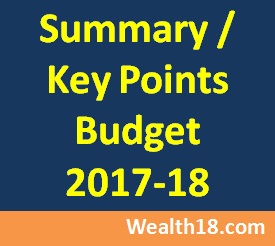 summary-budget 2017-18