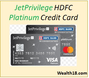 Jetprivilege Hdfc Bank Platinum Credit Card Review