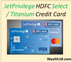hdfc credit card details pdf
