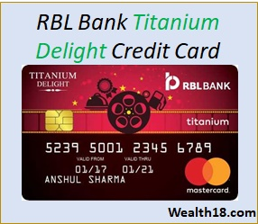 Rbl Bank Titanium Delight Credit Card Review Details
