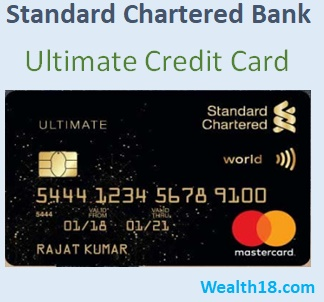Standard Chartered Bank (SC) Ultimate Credit Card - Review, Details, Offers, Benefits | Wealth18.com