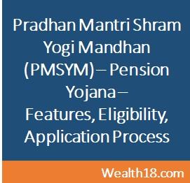Pradhan Mantri Shram Yogi Mandhan Pmsym Mega Pension