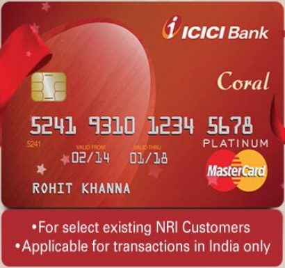 icici bank eligibility for credit card